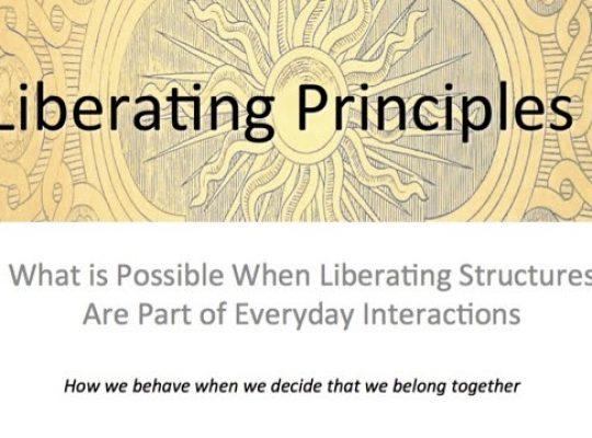 Los principios de LS guían nuestro comportamiento cuando decidimos que pertenecemos