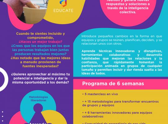 TÉCNICAS Y HERRAMIENTAS PARA FACILITACIÓN DE EQUIPOS – 2da Edición